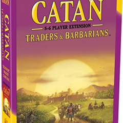 Mayfair Games Catan Expansion Traders and Barbarians 5 to 6 Player Extension Board Game