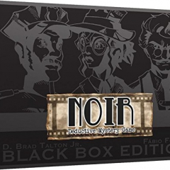 NOIR: Deductive Mystery Game Black Box Edition