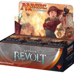 Magic: The Gathering MTG-AER-BD-EN English Aether Revolt Booster Display Box (Pack of 36)