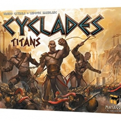Matagot SAS MATSCYC3 Cyclades Titans Expansion Children Game