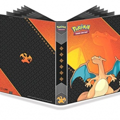 Ultra Pro 84632 - PKM Charizard 9 Pocket Pro Binder, Multi-Colour