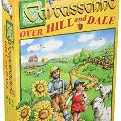 "Z-Man Games ""Carcassonne Over Hill and Dale"" Board Game"