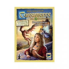 Carcassonne 3: Princess and Dragon (Scandinavian instructions)