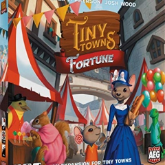 Alderac Entertainment ALD07072 Tiny Towns: Fortune Expansion