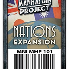 Minion Games Manhattan Project Nations Expansion Board Game