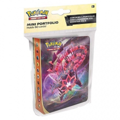PoKéMoN 174-80730 Pokemon-Sword & Shield Darkness Ablaze-Mini Portfolio with Booster