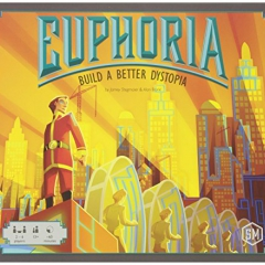 Stonemaier Games Euphoria Build a Better Dystopia Board Game