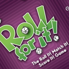 Calliope Games Roll for It! Express Board Game