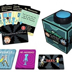 Cryptozoic Entertainment CZE02178 Mr Meeseeks' Box of Fun: Rick and Morty Dice and Dares Game, Mixed Colours