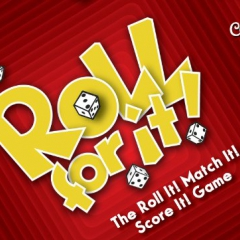 Calliope Games Roll for It! Board Game