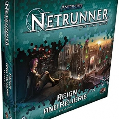 Fantasy Flight Games Reign and Reverie Deluxe Expansion - Android: Netrunner the Card Game LCG