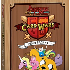 Cryptozoic Entertainment Adventure Time Card Wars Hero Pack Card Game