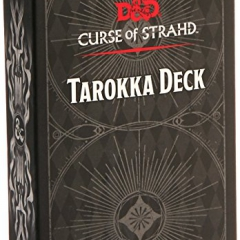 Gale Force Nine GF973706 Dungeons and Dragons Board Game: Tarokka Deck – Curse of Strahd