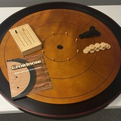 Mayday Games: Hardwood Crokinole 2017 Edition 2-4 Player Dexterity Game - Kickstarter Limited Edition