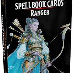 Dungeon & Dragons Spellbook Cards Ranger (Dongeon & Dragons)