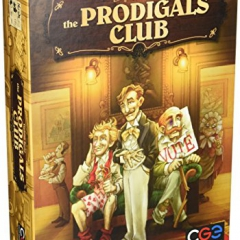 Czech Games Edition CGE00033 The Prodigals Club Board Game