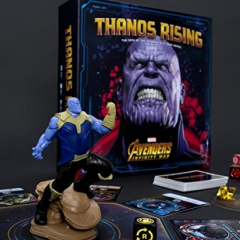 USAopoly Thanos Rising Marvel Avengers Infinity War Cooperative Card and Dice Board Game