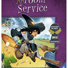 Ravensburger Broom Service Board Game
