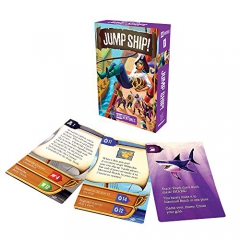 Gamewright Cardventures Jump Ship Card Game