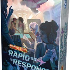 Z-Man Games ZMGZM011 Pandemic Rapid Response, Mixed Colours