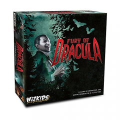Wizkids WZK73459 Fury of Dracula 4th Edition, Mixed Colours