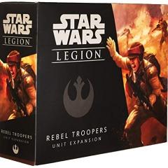 Fantasy Flight Games FFGSWL05 Star Wars: Legion Rebel Troopers Unit, Multicoloured