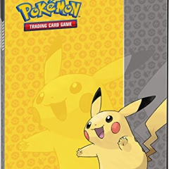 "Ultra Pro 84554 ""Pokemon Pikachu Nine Pocket"" Portfolio"