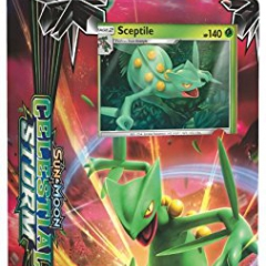 Pokemon Sun And Moon Celestial Storm Theme Deck Leaf Charge