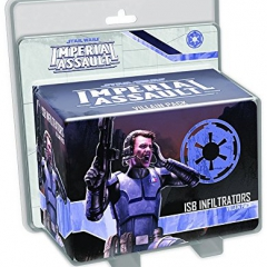 Fantasy Flight Games SWI28 Star Wars Imperial Assault Expansion ISB Infiltrators Villain Pack