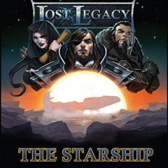 Alderac Entertainment Group Lost Legacy 1 The Starship Board Game