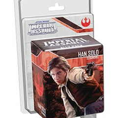 Star Wars Imperial Assault Han Solo Ally Pack