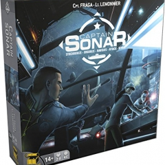 Captain SONAR Board Game - English Edition