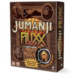 Looney Labs LOO103 Jumanji Fluxx, Mixed Colours