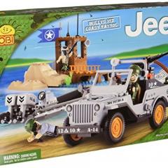 Cobi Small Army 24253 Jeep Willys MB Coast Guard, 250 Blocks