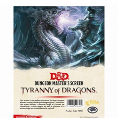 Dungeons & Dragons Tyranny of The Dragons DM Screen