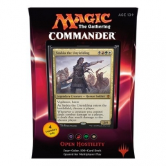 MTG Commander 2016 - Open Hostility