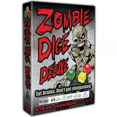Steve Jackson Games SJG31348 Zombie Dice Deluxe (10th Anniversary), Mixed Colours