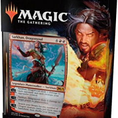 Magic The Gathering MTG - Core Set 2019 1 Planeswalker Deck (Sarkhan)