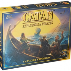 Mayfair Games Settlers of Catan Explorers and Pirates Expansion Board Game
