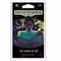 Fantasy Flight Games The Wages of Sin Mythos Pack - Arkham Horror the Card Game Expansion