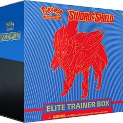 Pokemon TCG: Sword & Shield Elite Trainer Box - Zamazenta