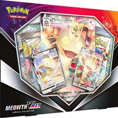 Pokemon POK80412 TCG: Meowth VMAX Box