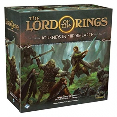 Fantasy Flight Games FFGJME01 The Lord of The Rings: Journeys in Middle-Earth Board Game, Mixed Colours