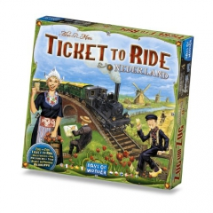 Ticket To Ride Expansion Nederland's Map Collection