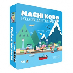 Machi Koro Card Game Deluxe Edition
