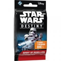 Star Wars Destiny: Spirit of Rebellion Booster (1 Single Pack)