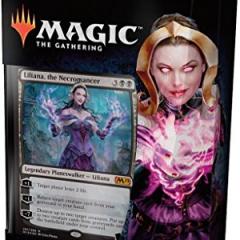 Magic The Gathering MTG - Core Set 2019 1 Planeswalker Deck (Liliana)