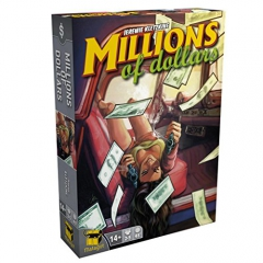 Matagot SAS MATSMID1 – Millions Of Dollars, Families Strategy Game
