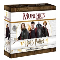 USAopoly USOMU010400 Munchkin Deluxe: Harry Potter, Mixed Colours
