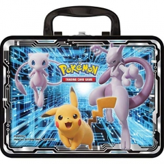 Pokémon POK80546 TCG: Collector Chest (2019) Armored Mewtwo, Pikachu, Charizard (one at Random), Mixed Colours